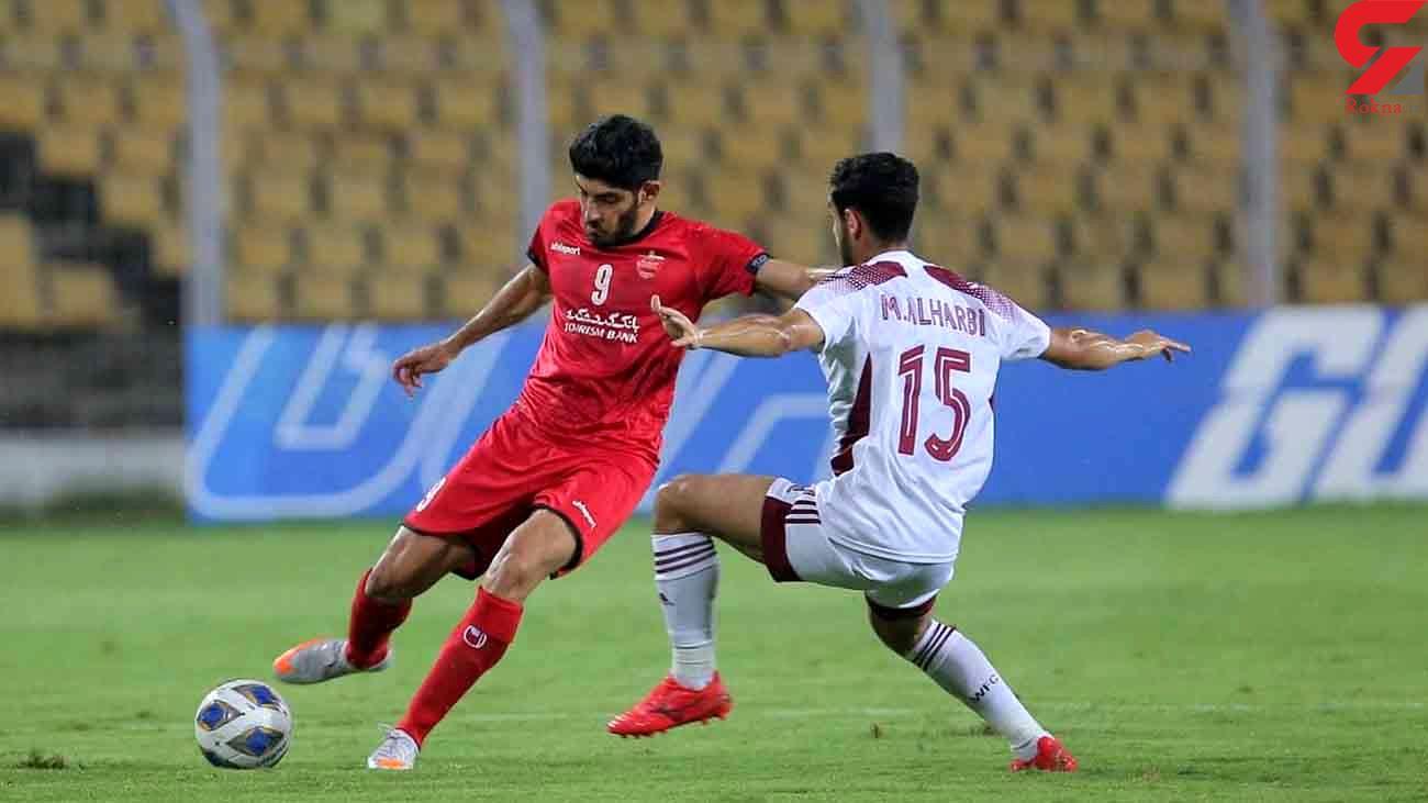 پایان روند پیروزی های پرسپولیس در لیگ قهرمانان آسیا
