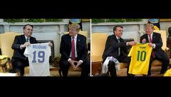 باز هم ترامپ مسخره شد + عکس