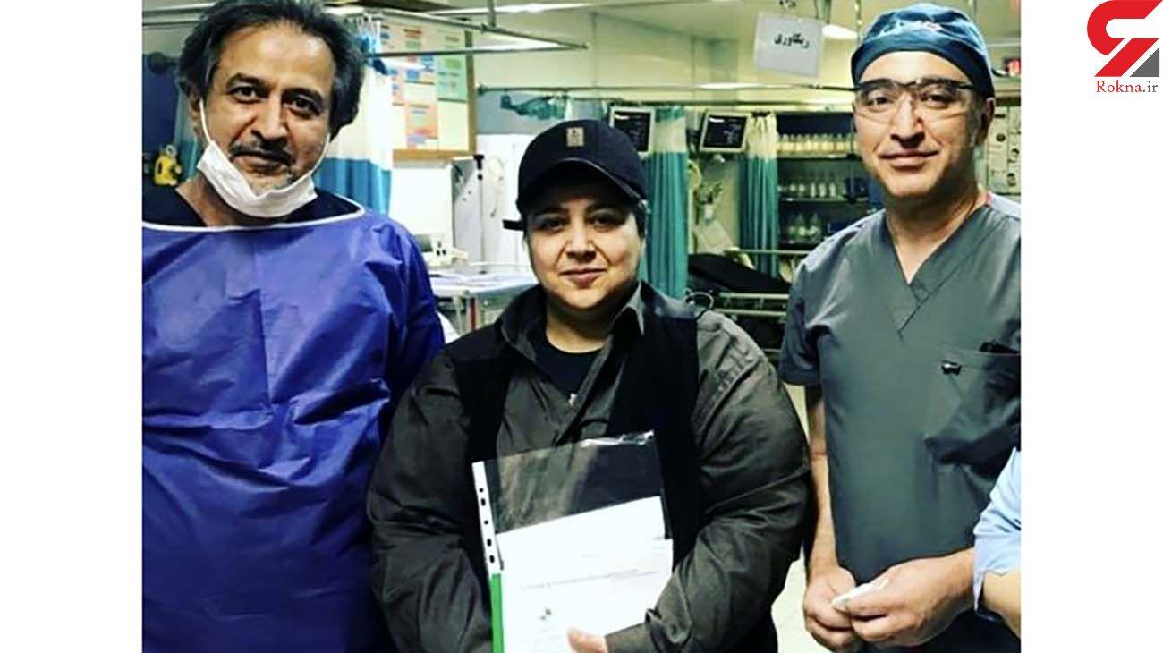 شهره لرستانی در روزهای کرونایی به بیمارستان رفت + عکس