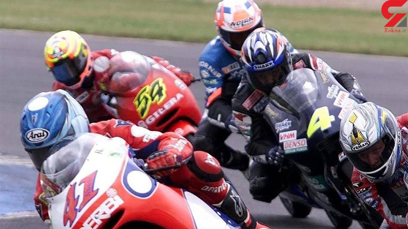 مرگ موتورسوار جوان انگلیسی در پیست مسابقه