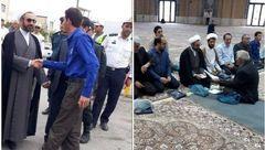عجیب ترین اقدامی که در این روزها یک امام جمعه انجام داد!