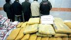 دستگیری گردانندگان باند مخوف مواد مخدر در فلاح تهران+عکس