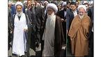 حضور مراجع تقلید و علما در راهپیمایی ۲۲ بهمن