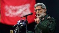 فیلم اولین حمله تند «سردار قاآنی»در حمایت از سردار سلیمانی به امریکایی ها