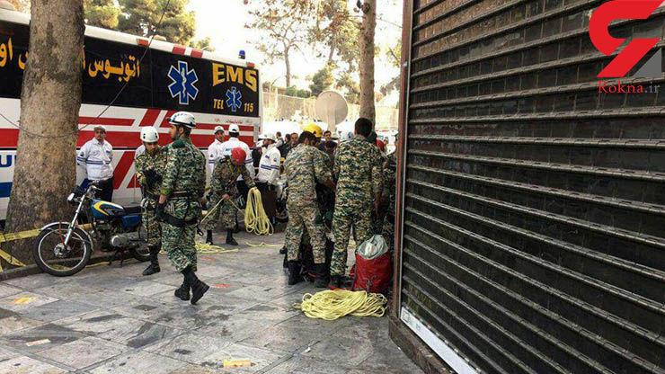 ١٨ نیروی ویژه ارتش با تجهیزات نظامی در پلاسکو/ ستاد بحران نزاجا تشکیل شد