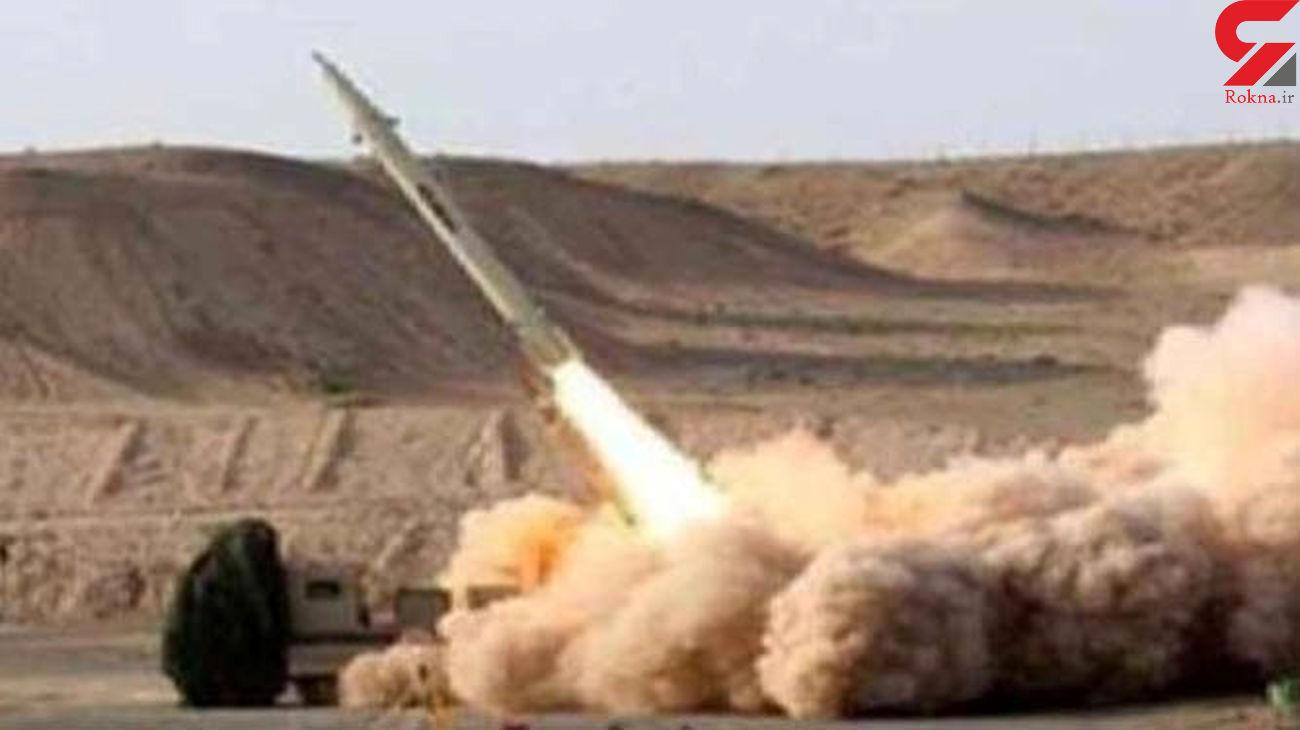 شلیک موشک بالستیک به پایگاه نظامی سعودی در خاک عربستان