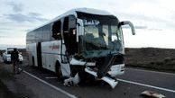 یک کشته و ۷ زخمی بر اثر تصادف اتوبوس در محور بجنورد به آشخانه