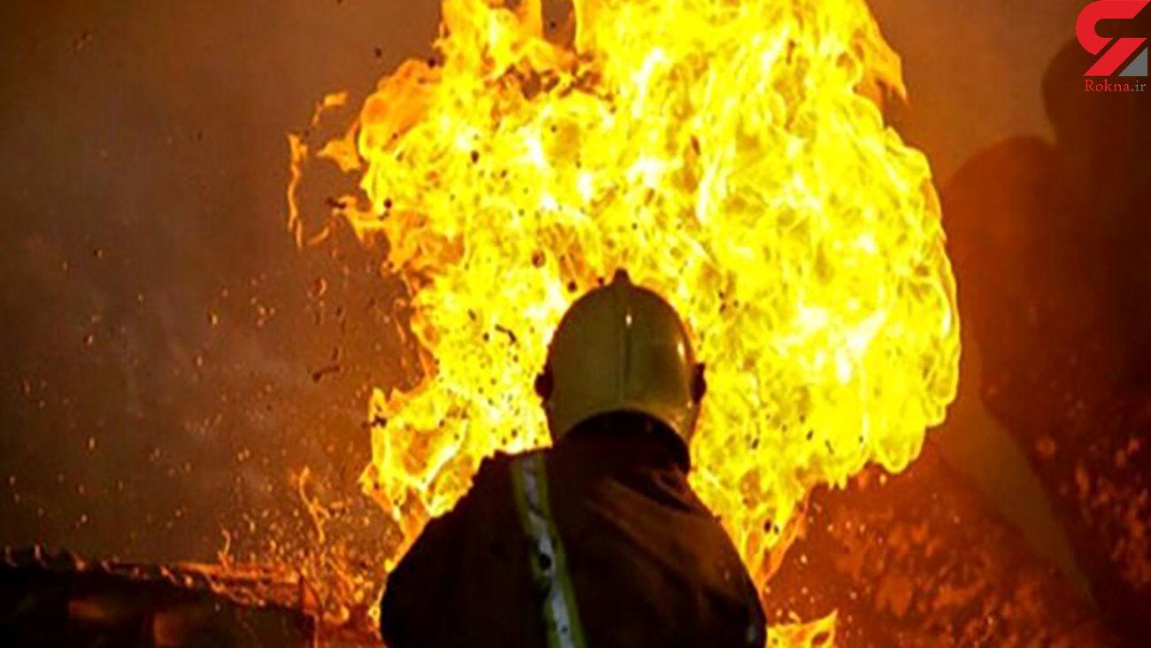 آتش سوزی هولناک در رشت / 6 زن و مرد 3 صبح آواره خیابان شدند