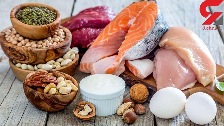 میزان پروتئین مورد نیاز روزانه در زنان!