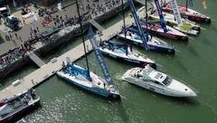 ولو قایق تفریحی ساخت که خودکار پارک می شود