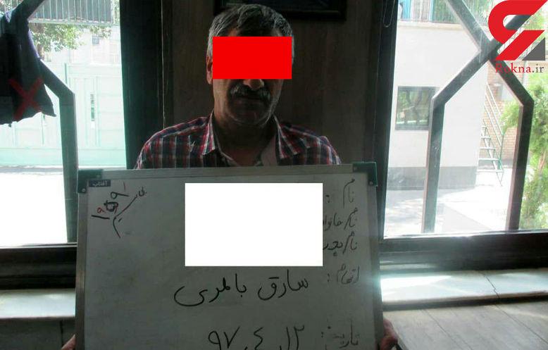 دستگیری دزدان ون سوار تهران + عکس