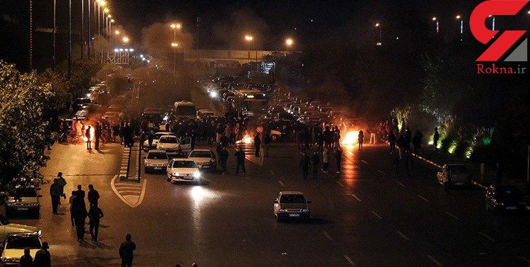 آخرین وضعیت اعتراضات بنزینی در کشور / افزایش خشونت در برخی استانها + فیلم و عکس