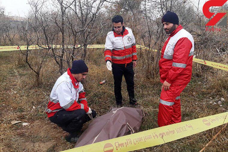 کشف جسد دلخراش یک مرد در باغ های انار سمنان+ عکس