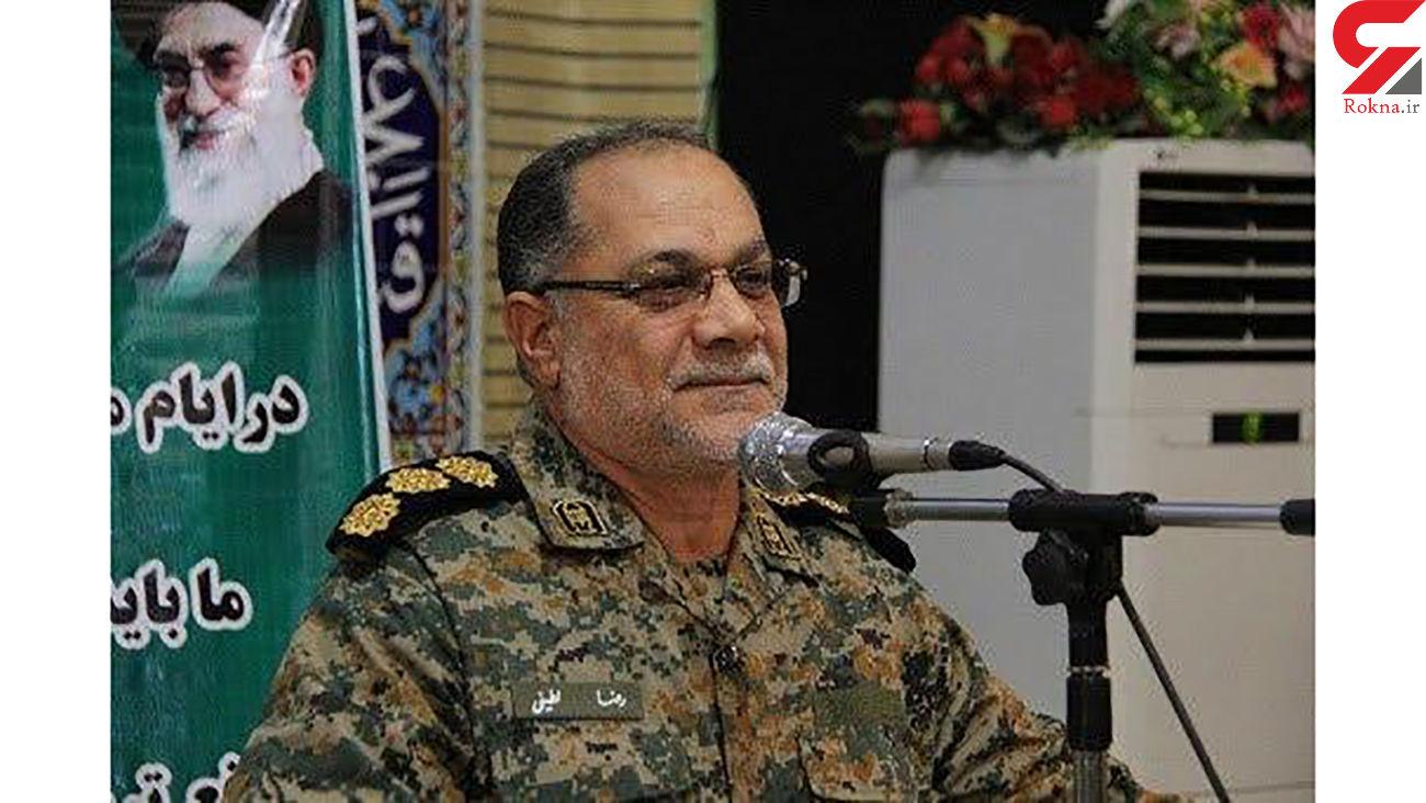 کرونا جان رضا لطیفی جانشین فرمانده سپاه سلمان را گرفت + عکس