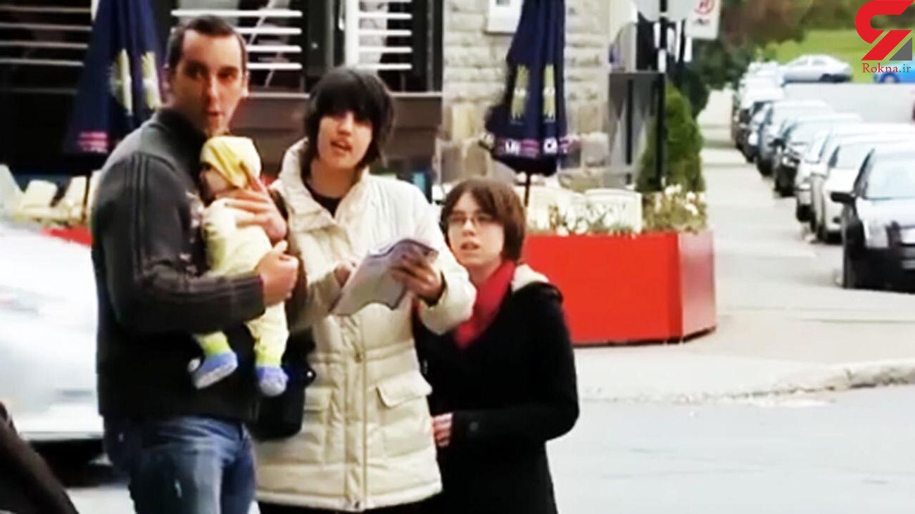 پرتاب کردن نوزاد توسط پدر + فیلم  واکنش مردم !