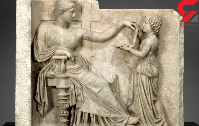 راز وجود لپ تاب در مجسمه 2 هزار ساله! + عکس