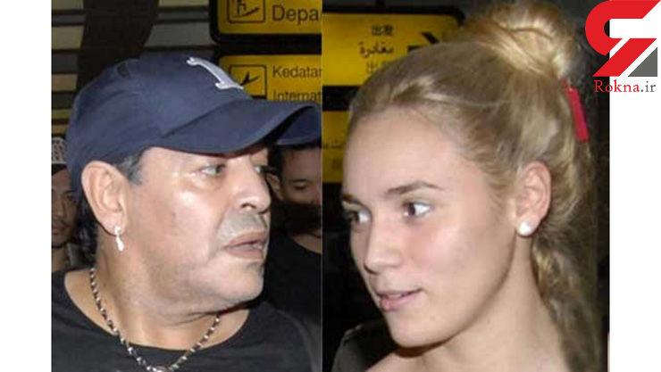 مارادونا با نامزدش در اتاق هتل چه کرد که پای پلیس به میان آمد؟+عکس