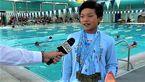 پسربچه 10 ساله رکورد شناگر افسانه ای را شکست +عکس