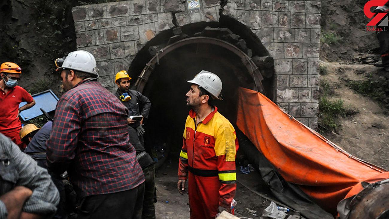 زنده زنده دفن شدن 2 معدنچی در ریزش معدن خاک نسوز