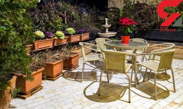 حیاط خانه تان را با مبلمان، شیک و رویایی کنید! +عکس