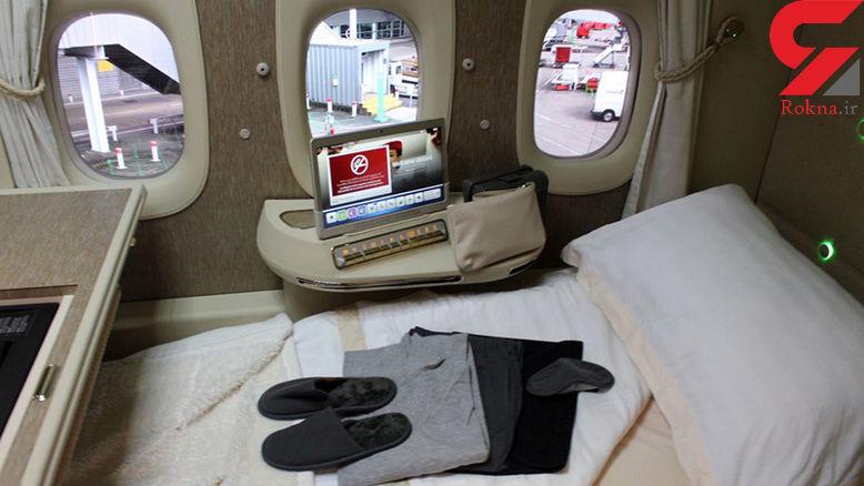 پنجرههای شگفت انگیز هواپیمای جدید امارات+عکس