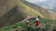 مرد 39 ساله در کوه های چالوس در یک قدمی مرگ بود
