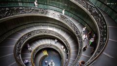 پله های مارپیچ واتیکان سوژه عکاس نشنال جئوگرافیک