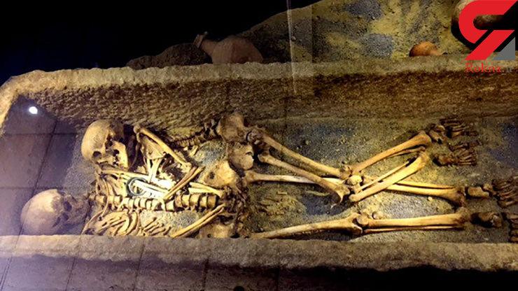 پیدا شدن 2 اسکلت زن و مرد در همدان ولوله به پا کرد! + عکس