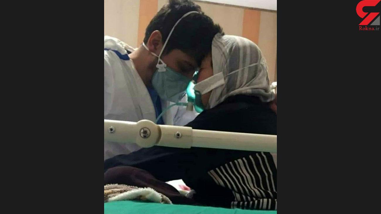 عکسی که ایران را تکان داد /  کرونا رحم ندارد