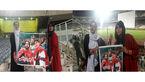 جدید ترین عکس از دختران جنجالی ورزشگاه آزادی