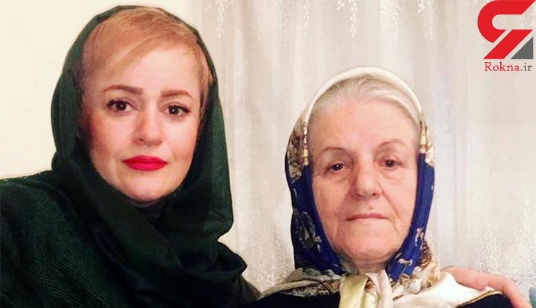 «نعیمه نظام دوست» در جشن تولد مادرش + عکس
