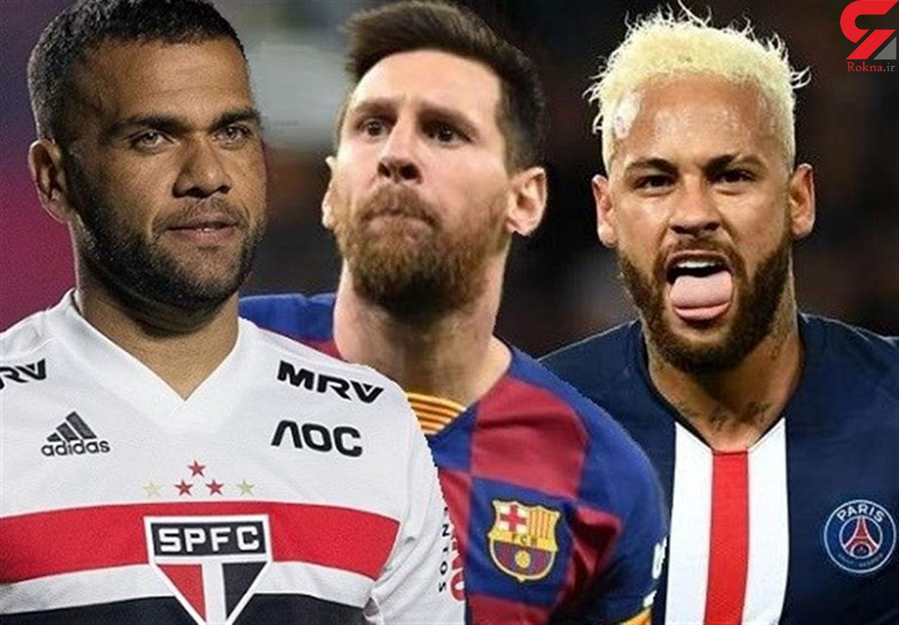 آلوز: نیمار میتواند به مسی و بارسلونا کمک کند