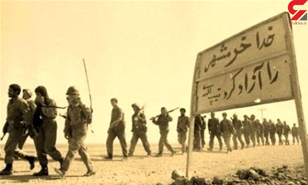 میان انفجار و جنازه از خستگی خوابمان می برد/ نوجوان 15 ساله از روز آزادی خرمشهر می گوید  + صوت