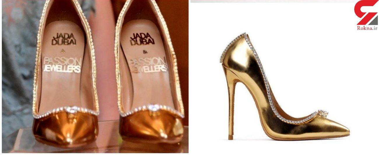 گرانترین کفش دنیا با قیمت  ۱۷ میلیون دلار + عکس
