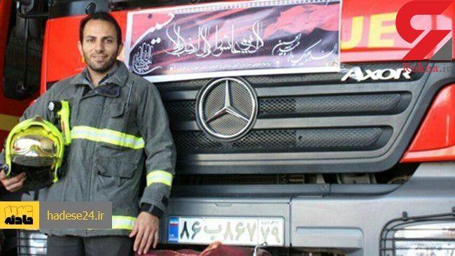 ماجرای فداکاری یک آتشنشان در دل سیلاب / قادر چگونه با یک طناب به آب زد؟+ عکس