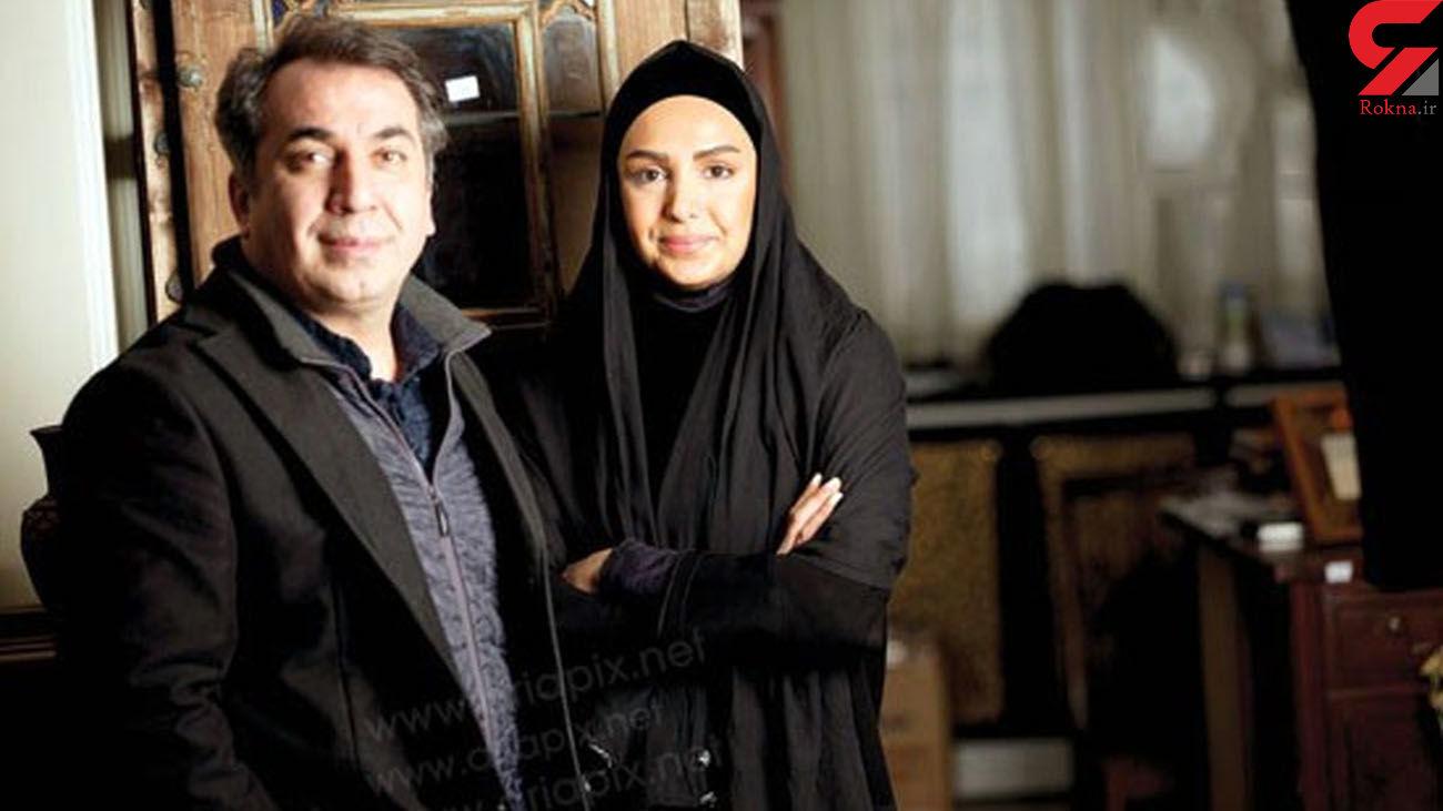 سیامک انصاری و همسرش قبل از طلاق + عکس