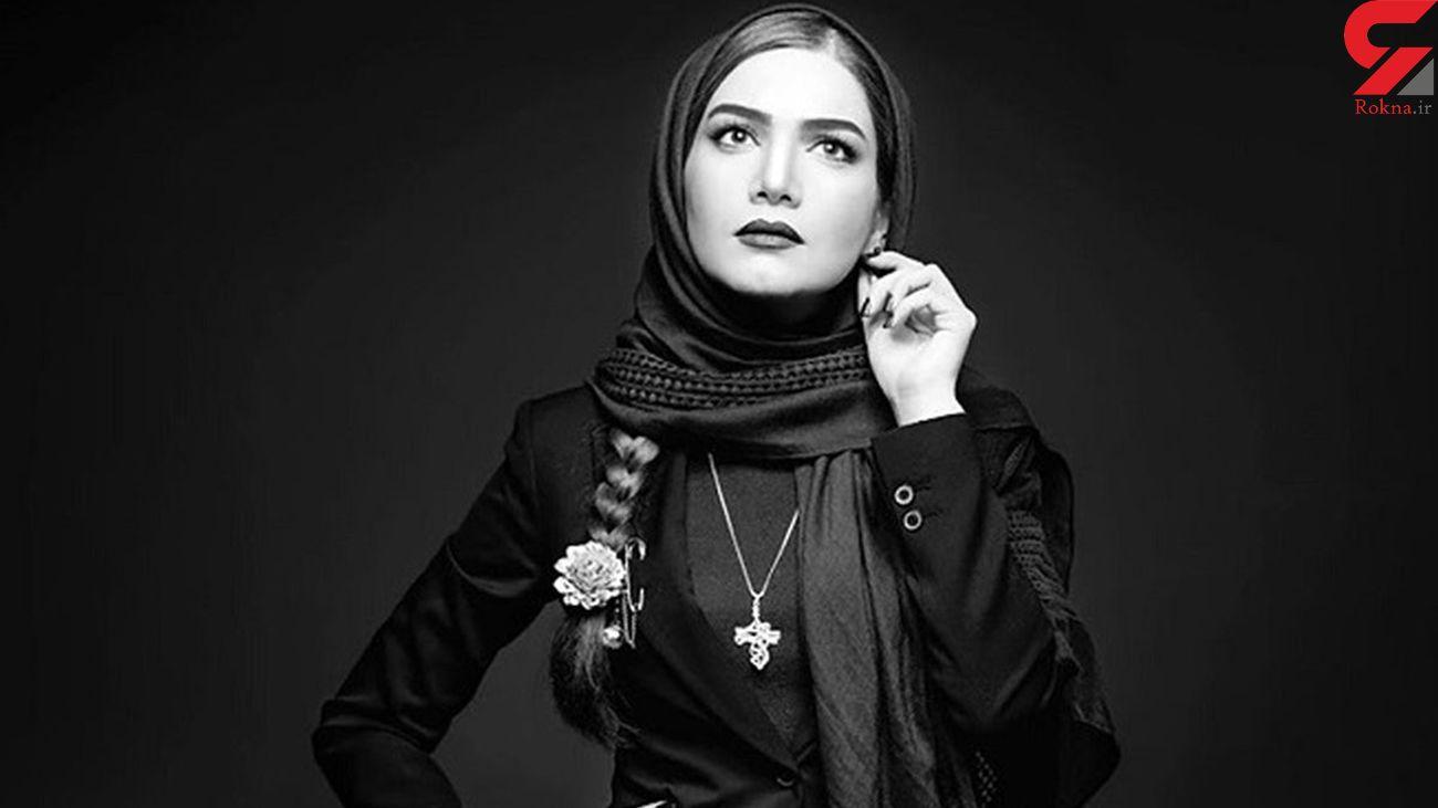 لباس جالب متین ستوده در پشت بام! + عکس