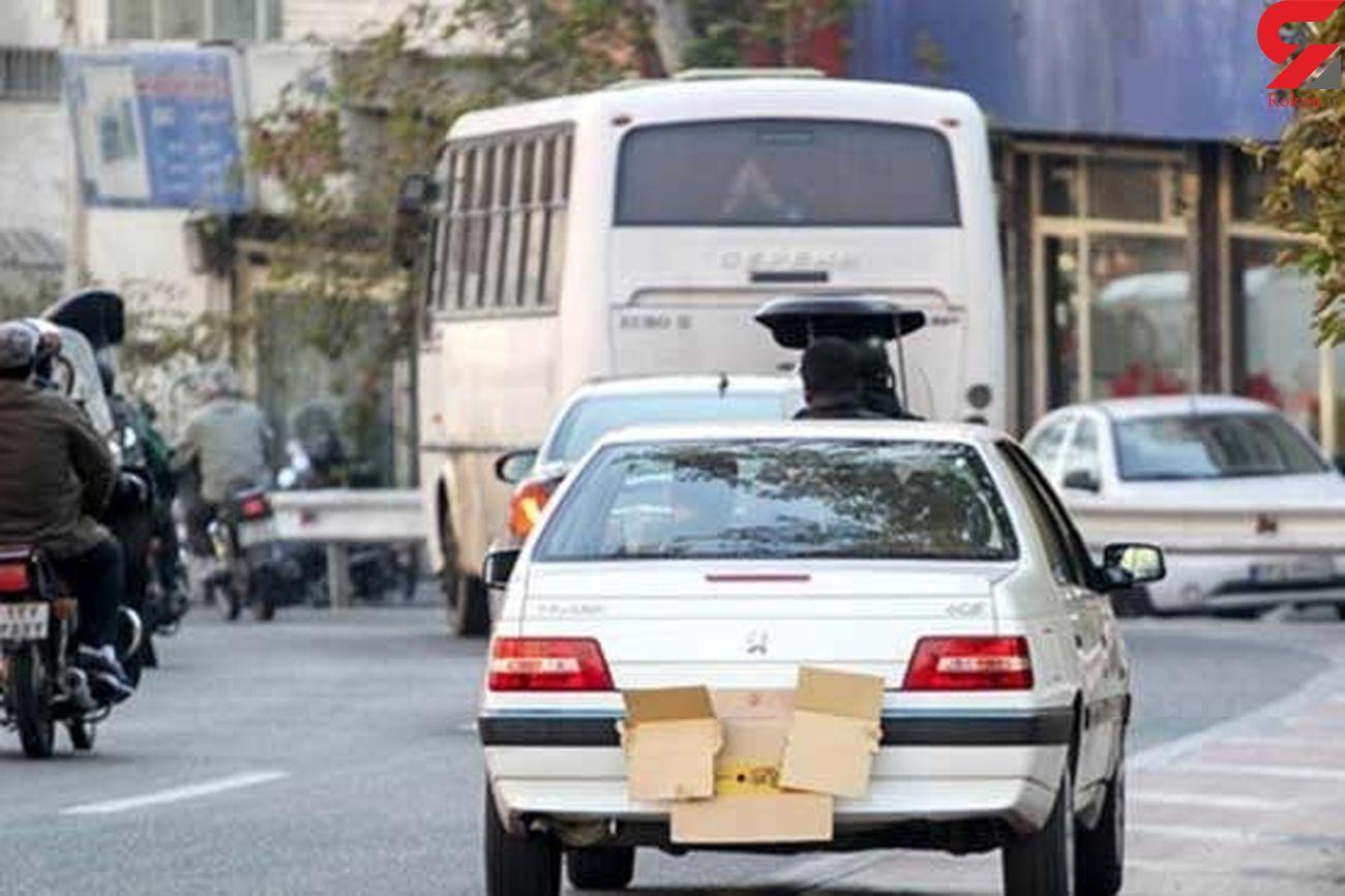 تردد خودروهای بدون پلاک در لرستان