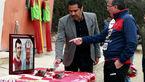مراسم بزرگذاشت سرطلایی در تمرین پرسپولیس  + عکس