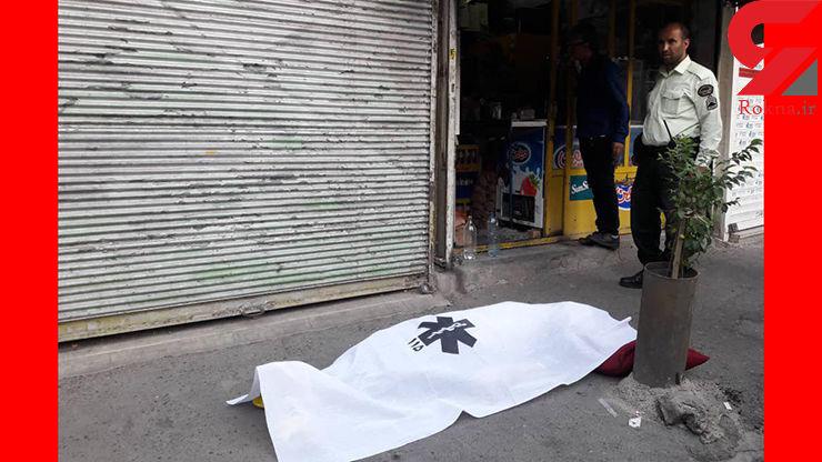 مرگ مشکوک مرد مغازه دار به خاطر یک شیشه نوشابه / در محله بیسیم تهران رخ داد+تصاویر