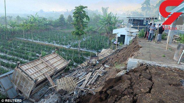 زلزله اندونزی دیوید بکام و خانواده اش را در تعطیلات غافلگیر کرد