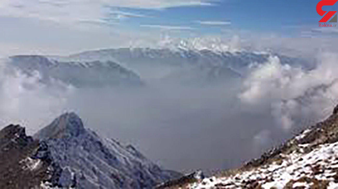 نجات مرد تهرانی یخ زده در توچال