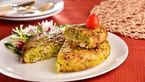 کوکوی مرغ پنیری غذای فوری و رژیمی+دستور پخت