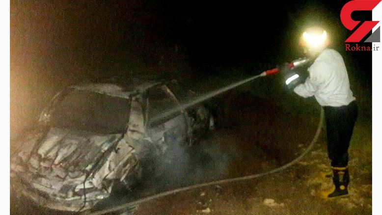 ۲ کشته بر اثر واژگونی یک دستگاه پژو در جاده سپید دشت