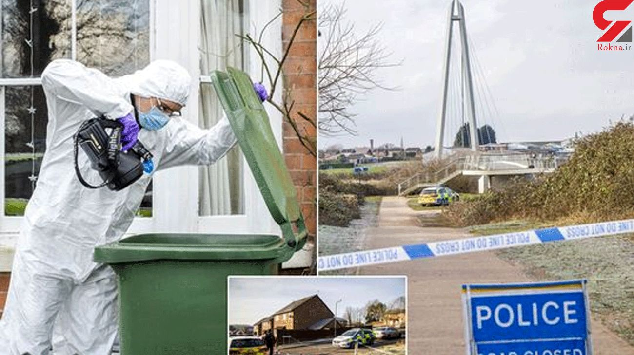 Police scour 'trail of blood' after woman killed and body dumped in river