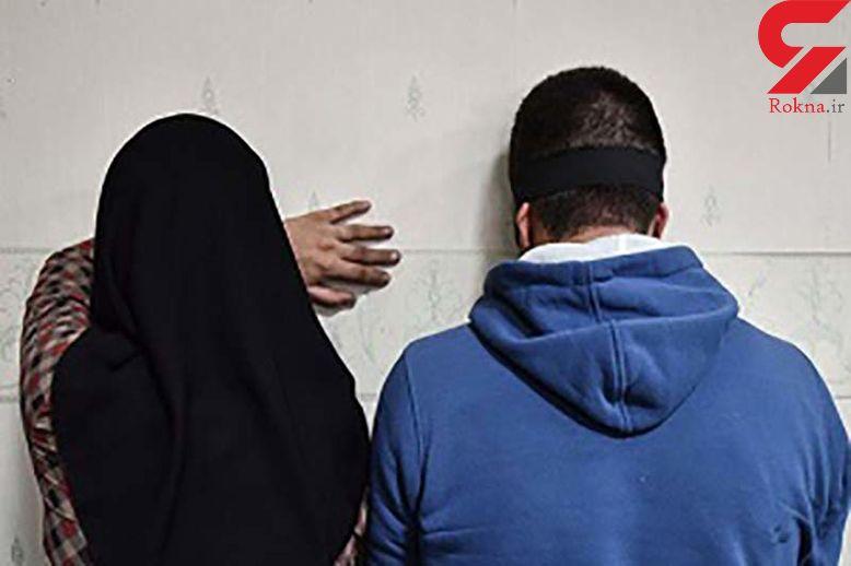 4 زن و مرد پلید در یک خانه فساد اجاره ای بودند که پلیس آبادان سر رسید