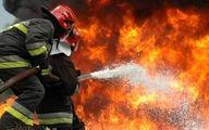 پیرمرد 70 ساله بابلی در آتش سوخت