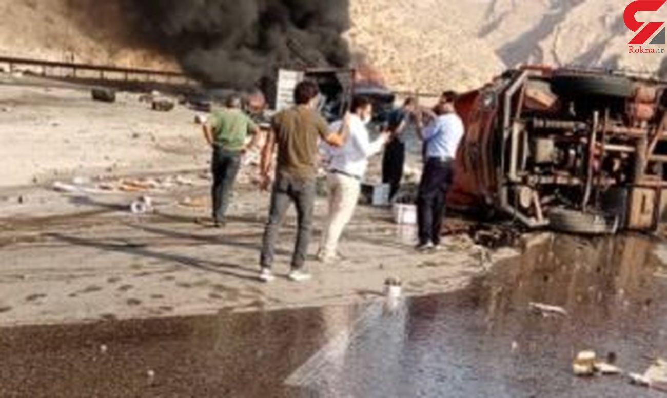 دو کشته در محور بندرعباس– حاجی آباد