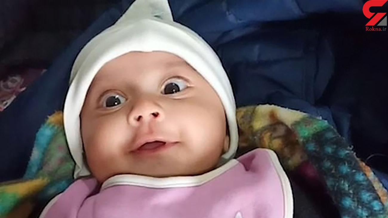 ویدیوی دیدنی از دوست دارم گفتن کودک 3 ماهه به مادرش