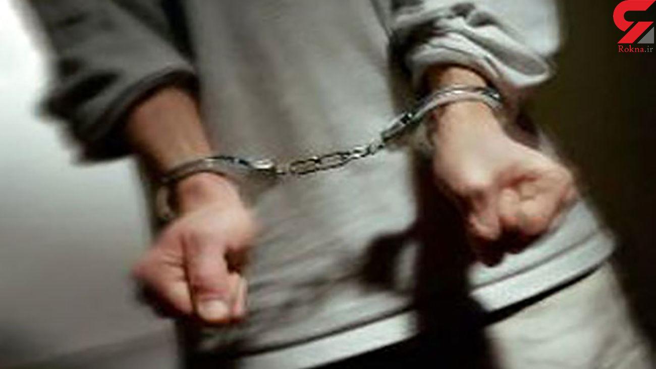 دستگیری پدر زن قاتل در شوش